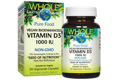 Whole Earth & Sea Vitamin D3 1000IU