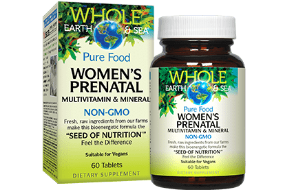 Whole Earth & Sea Women's Prenatal Multivitamin