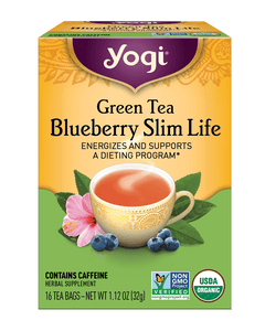 Green Tea Blueberry Slim Life Tea