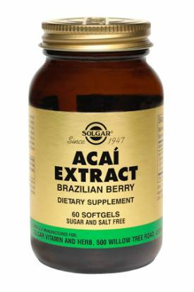 Acai Extract (Brazilian Berry) Softgels