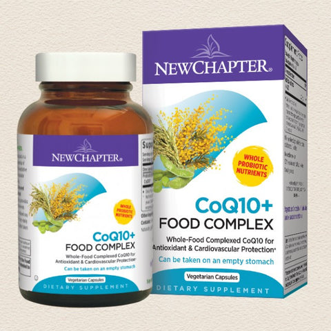 CoQ10+ Food Complex - Available in 30 and 60 Vcap® sizes