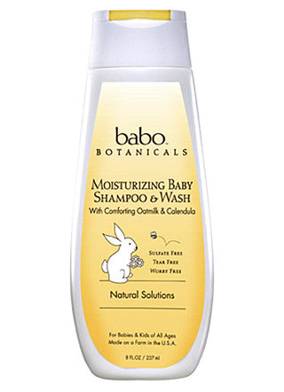 Moisturizing Baby Shampoo and Wash