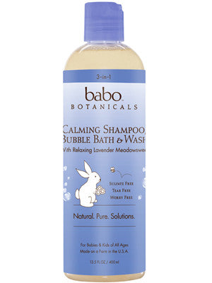 3 in 1 Calming Shampoo, Bubble Bath and Wash