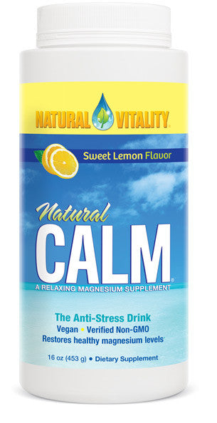 Natural Calm Organic Sweet Lemon