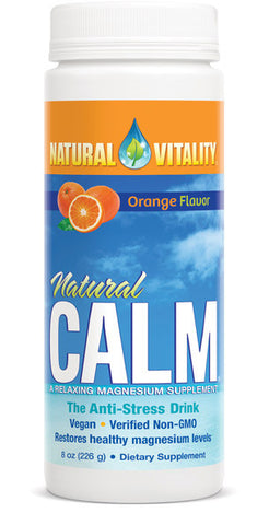 Natural Calm Organic Orange 16