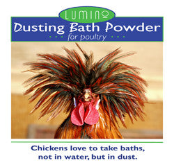 Lumino Dusting Bath Powder for Poultry