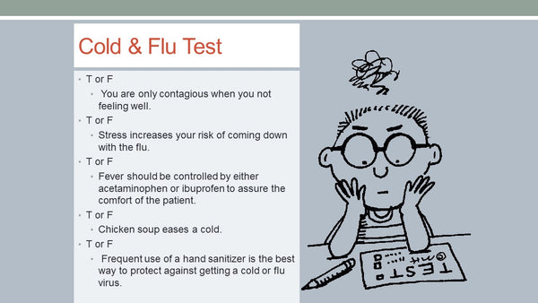 Recording of lecture: Preparing for Cold and Flu Season