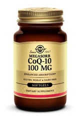 Megasorb CoQ-10 100 mg Softgels