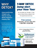 Recording of Lecture: 7-day Detox- Jump start you New Year