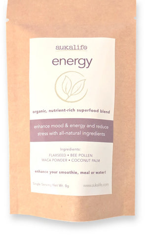 Energy Superfood Blend- Single Serving