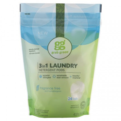 3-in-1 Laundry Detergent Fragrance Free