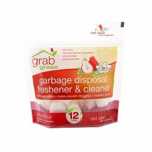 Garbage Disposal Freshener & Cleaner Red Pear w/Magnolia