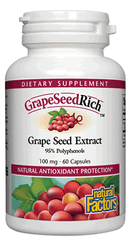 GrapeSeedRich™ Grape Seed Extract 100 mg 90 Capsules