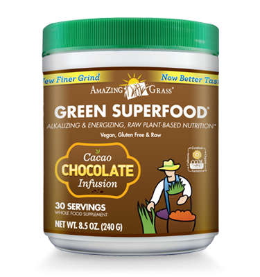 Green SuperFood Chocolate Infusion - 30% OFF
