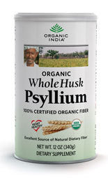 Organic Whole Husk Psyllium 12oz