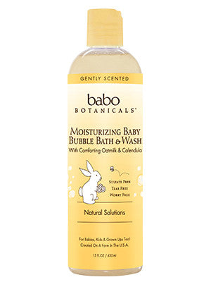 Moisturizing Baby Bubble Bath & Wash