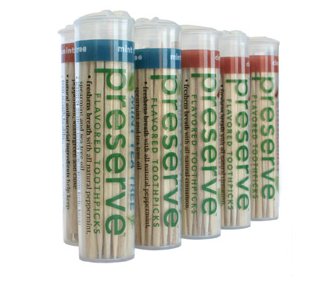 Preserve Flavored Toothpicks