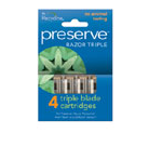 Preserve Razor Triple Replacement Blades