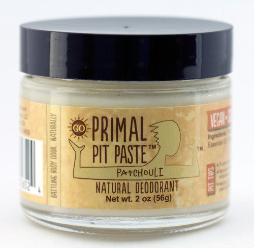 Primal Pit Paste Jar, Regular - Patchouli