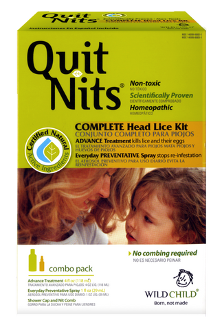 Quit Nits - Family Kit w/Free Preventative Spray