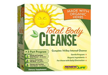 Organic Total Body Cleanse 20 to 25% OFF