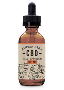 Sawyer Farm Full-Spectrum CBD Oil