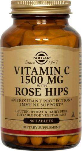 Vitamin C 1500 mg with Rose Hips
