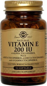 Vitamin E 200 IU Mixed