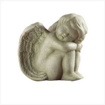 Sleeping Angel Statuette
