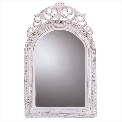 Shabby Decor Carved Mirror
