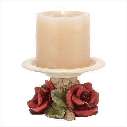 Red Roses Votive Candleholder