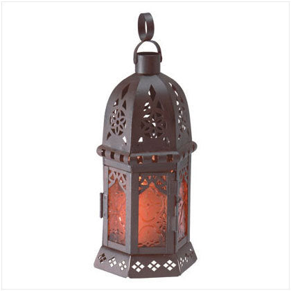 Small Moroccan Style Candle Lantern