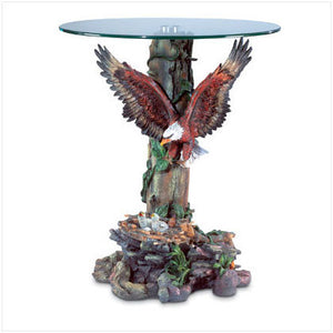 Eagle Glass Top Table