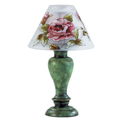 Victorian Rose Candle Lamp