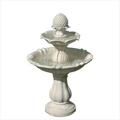 3 Tier Acorn Water Fountain