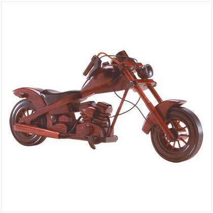 Wood Model Chopper Motorcycle