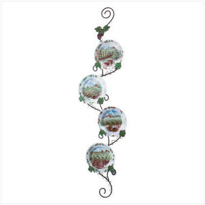 Vineyard Motif Plate Set