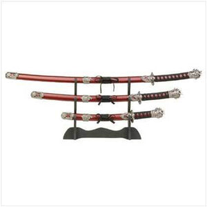 Samurai Headed Sword Set