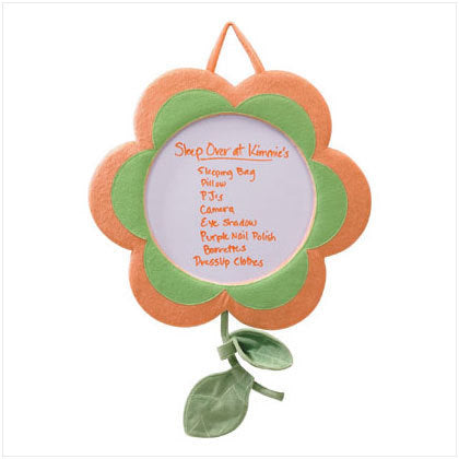 Plus Flower Dry Erase Board