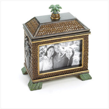 Palm Tree Box Frame