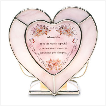 Spanish Abuelita Tealight Holder
