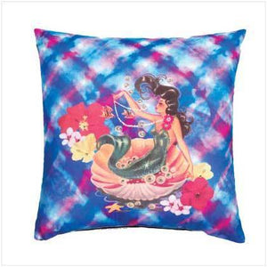 Sublimated Art Pillow -Nymph