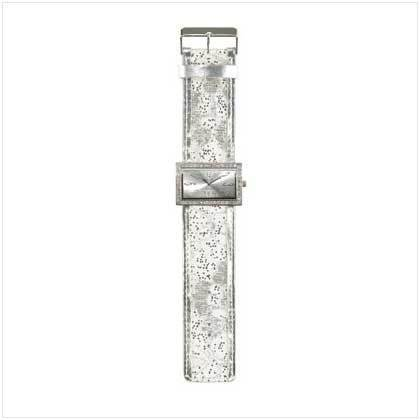 White Jeweled Lady's Watch