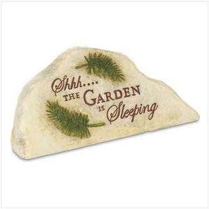 Sleeping Garden Stone Key Hider