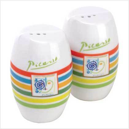 Salt and Pepper Shakers - Picasso Lines