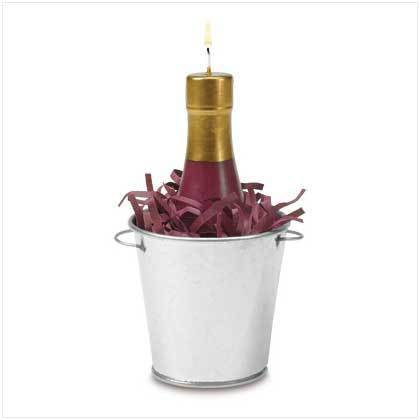 Wine Bottle Candle