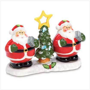 Smiling Santa Salt and Pepper Shaker