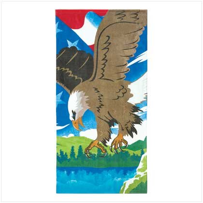Soaring Eagle Beach Towel