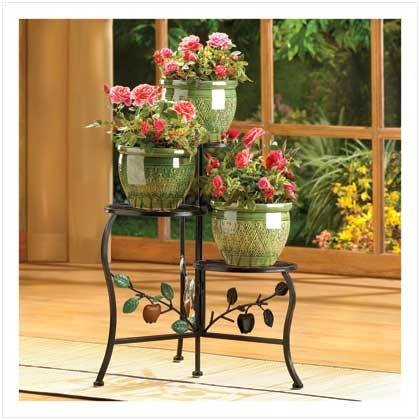 Country Apple Plant Stand