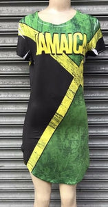 Jamaica Flag Dress